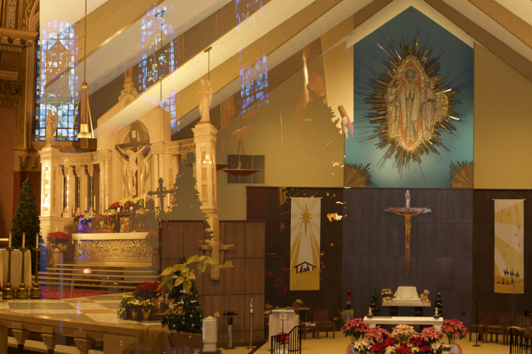 St. Andrew the Apostle and Our Lady of Knock Worship Sites